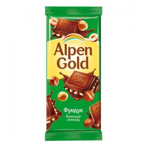 ALPEN GOLD 90GR SOKOLAD FUNDUK PLITKA