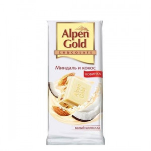 ALPEN GOLD 90GR BADAM-KOKOS AG PL/SOKOLAD