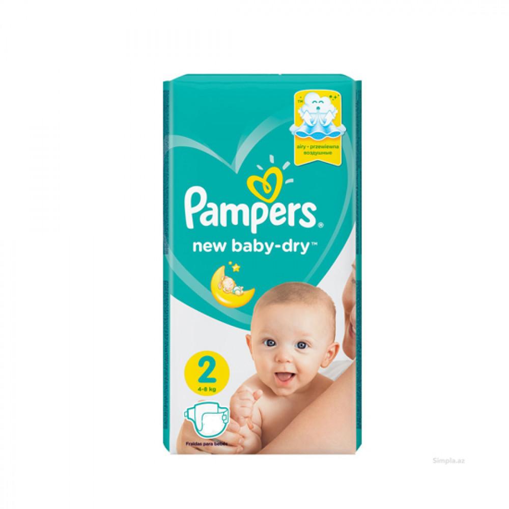PAMPERS NEW BABY-DRY N2 4-8KG 16-LI USAQ BEZI