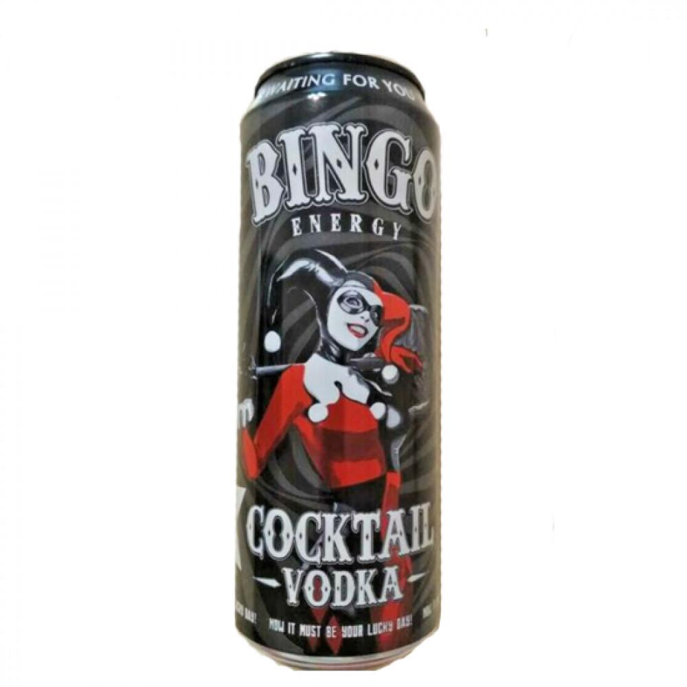 BINGO 449ML COCKTAIL ENERGY VODKA  D/Q