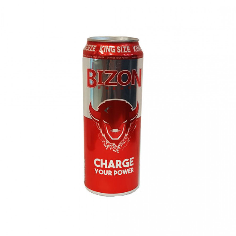 BIZON 250ML ENERGY RED LINE DRINK