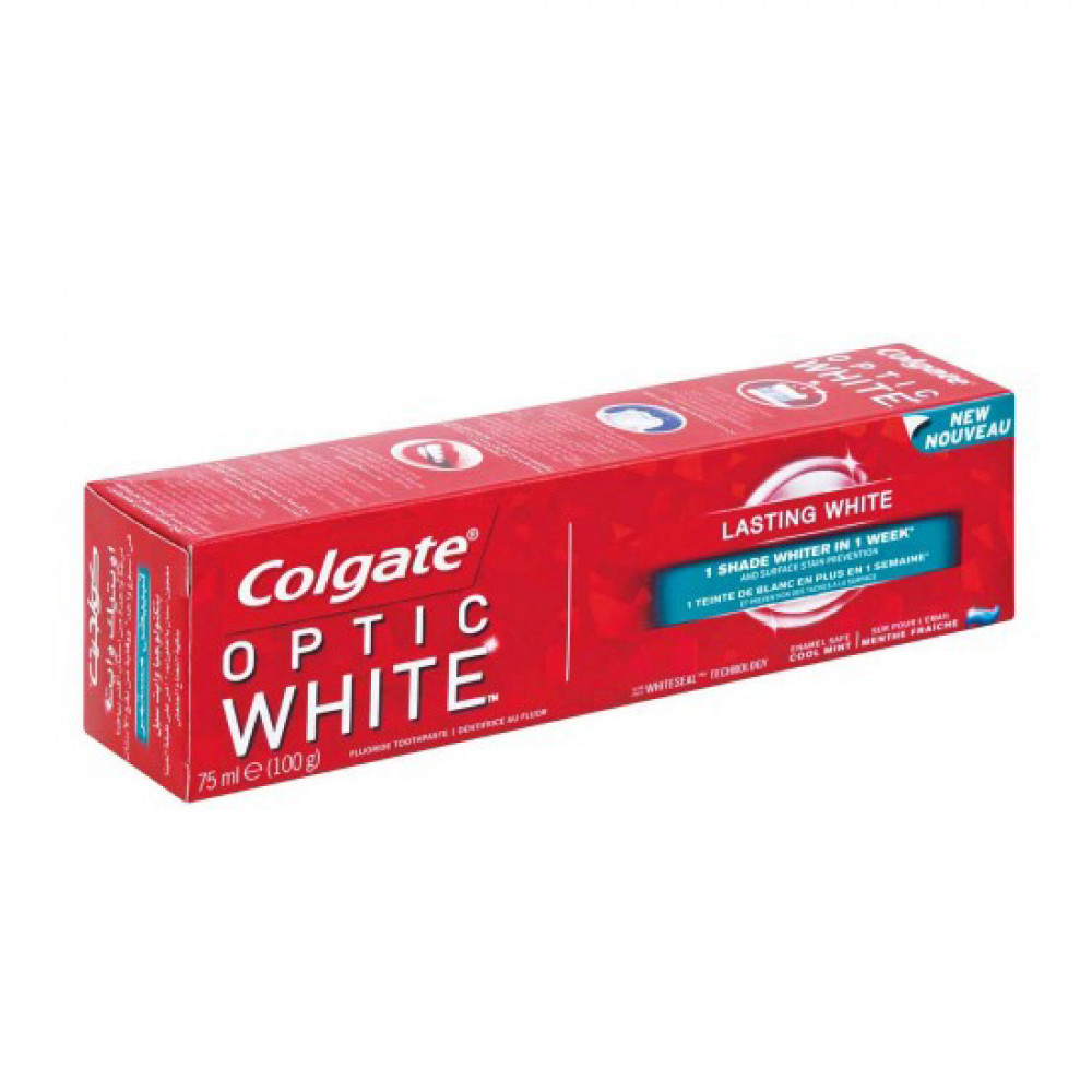 COLGATE OPTIC WHITE 75ML DIS MECUNU