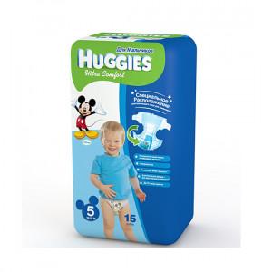 HUGGIES ULTRA.COM 5 12-22KG 15LI USAQ BEZI O/U