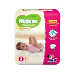 HUGGIES ULTRA.COM 3 5-9KG 21LI USAQ BEZI Q/U