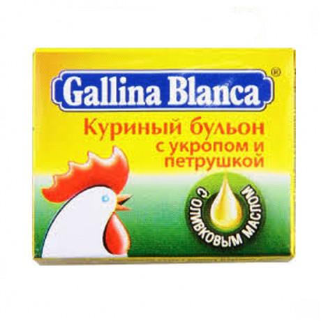 GALLINA BLANCA 10GR BULYON KURINNIY S ZELENYU
