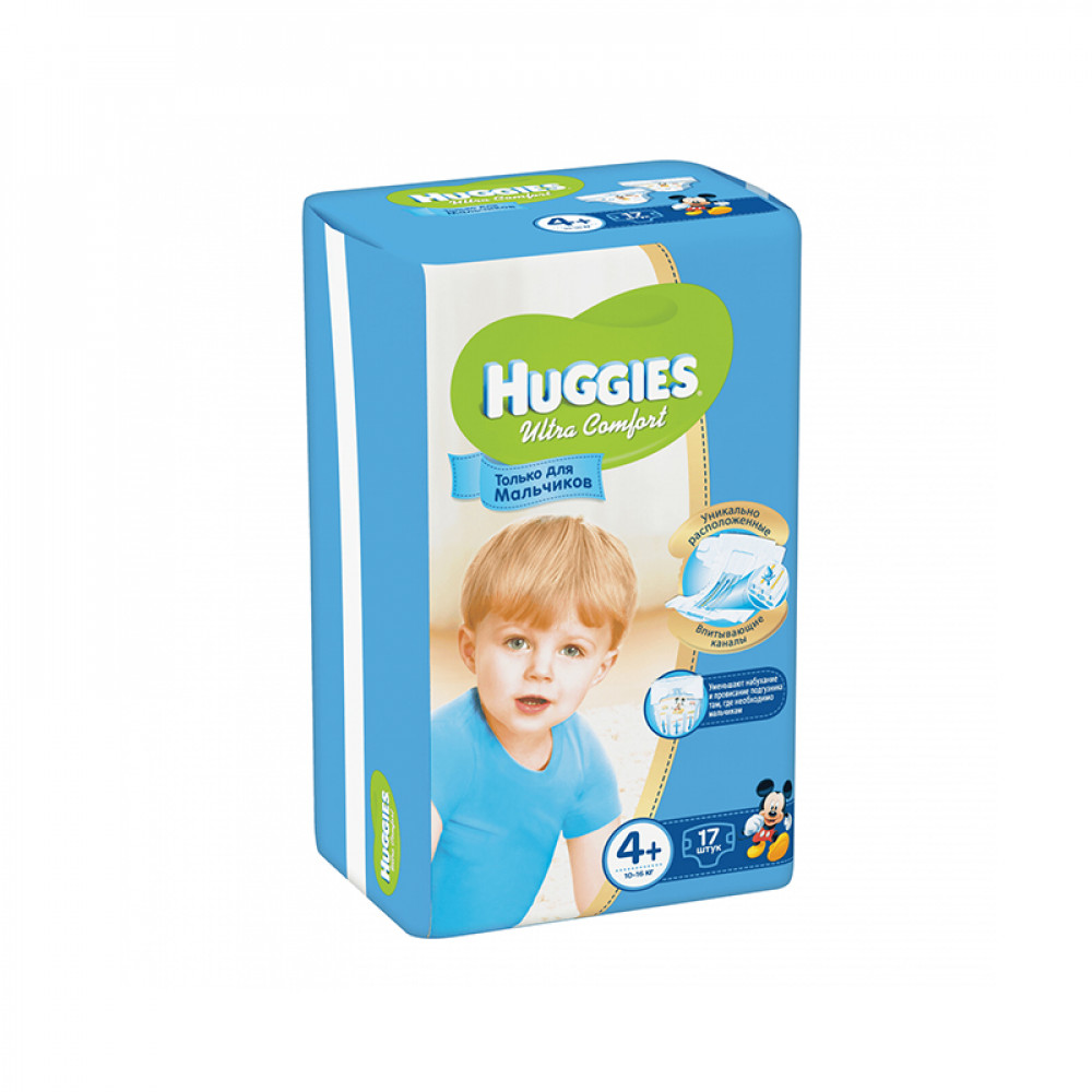 HUGGIES ULTRA.COM 4 10-16KG 17LI USAQ BEZI O/U