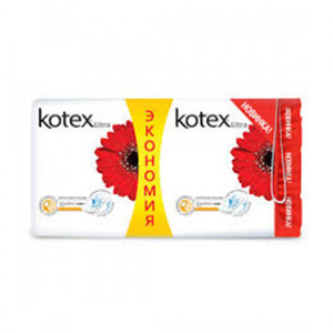 KOTEX ULTRA 2*10LU QADIN BEZ NOR.