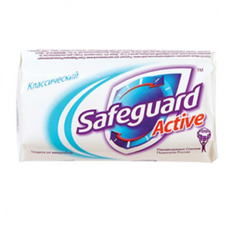 SAFEGUARD 90GR SABUN CLASSIC ACTIVE WHITE