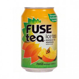 FUSE TEA 330ML ICE TEA MANQO-ANANAS D/Q