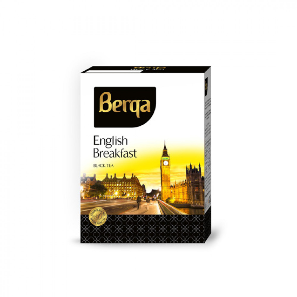 BERQA 225GR ENGLISH BREAKFAST QARA CAY