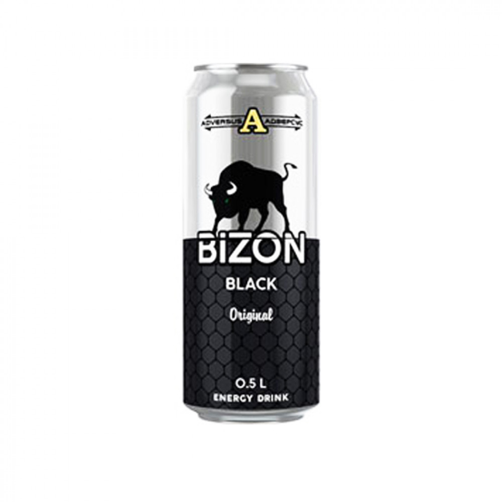 BIZON 250ML BLACK DIAMOND ENERGY DRINK
