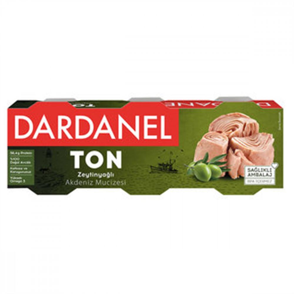 DARDANEL 3x75GR TON BALIQ ZEYTUN YAGLI D/Q