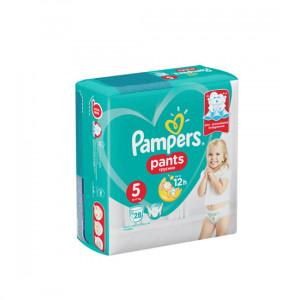 PAMPERS PANTS TRUSIKI N5 12-17KG 28-LI USAQ BEZI