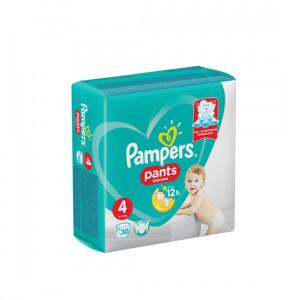 PAMPERS PANTS TRUSIKI N4 9-15KG 30-LU USAQ BEZI