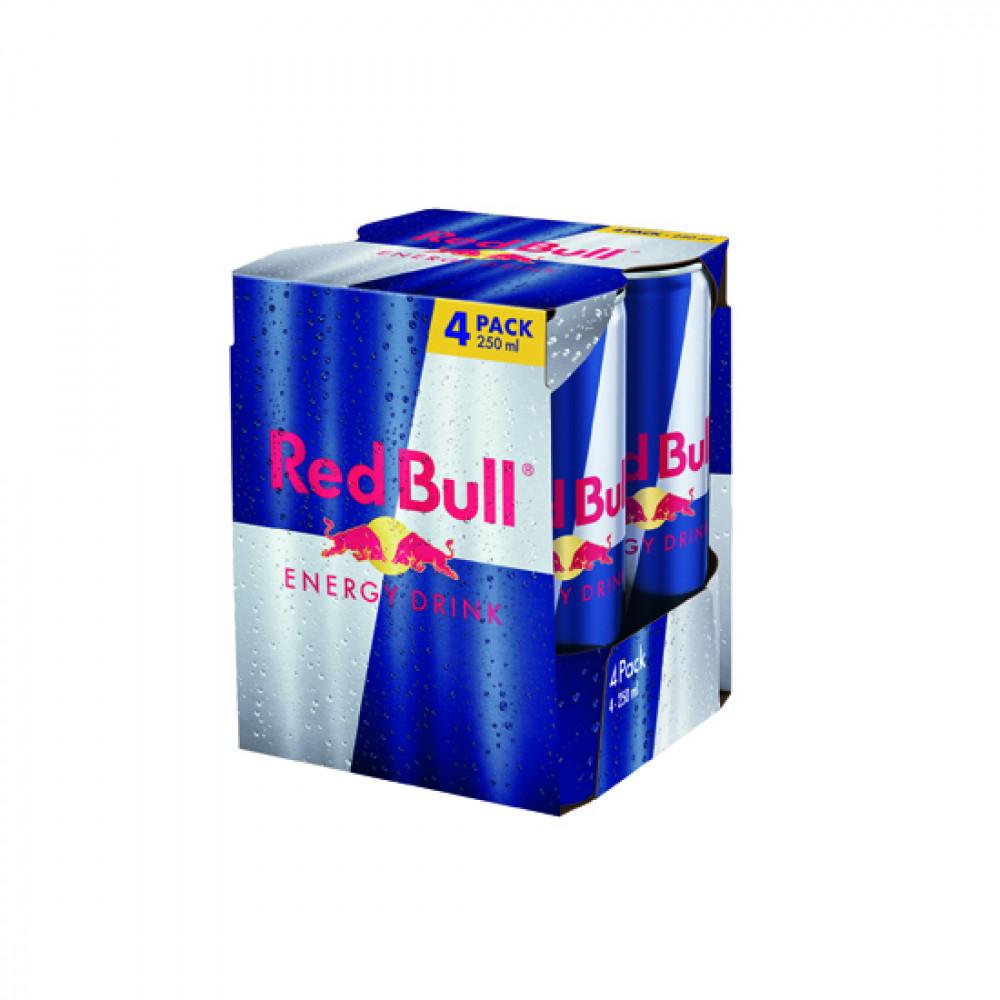 RED BULL 4X250ML ENERGY DRINK PACK
