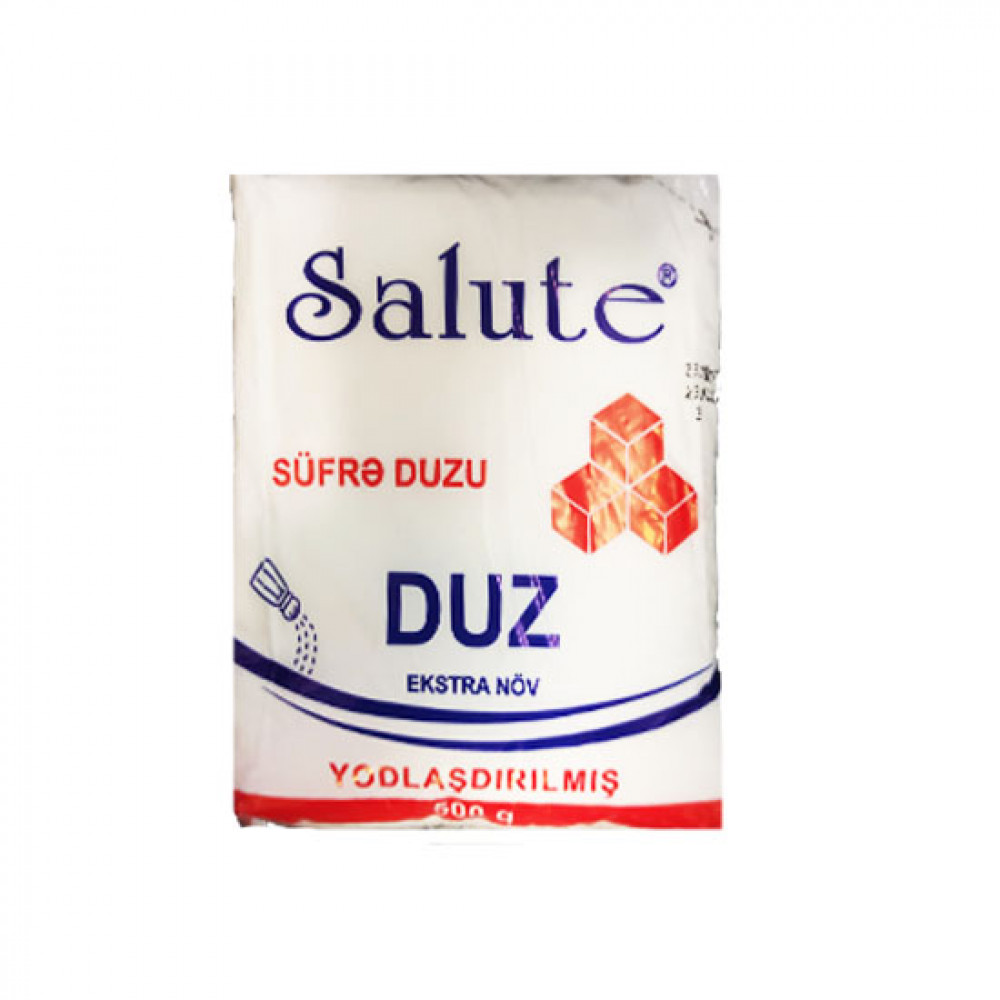 SALUTE 500GR SUFRE DUZU EKSTRA PAKET