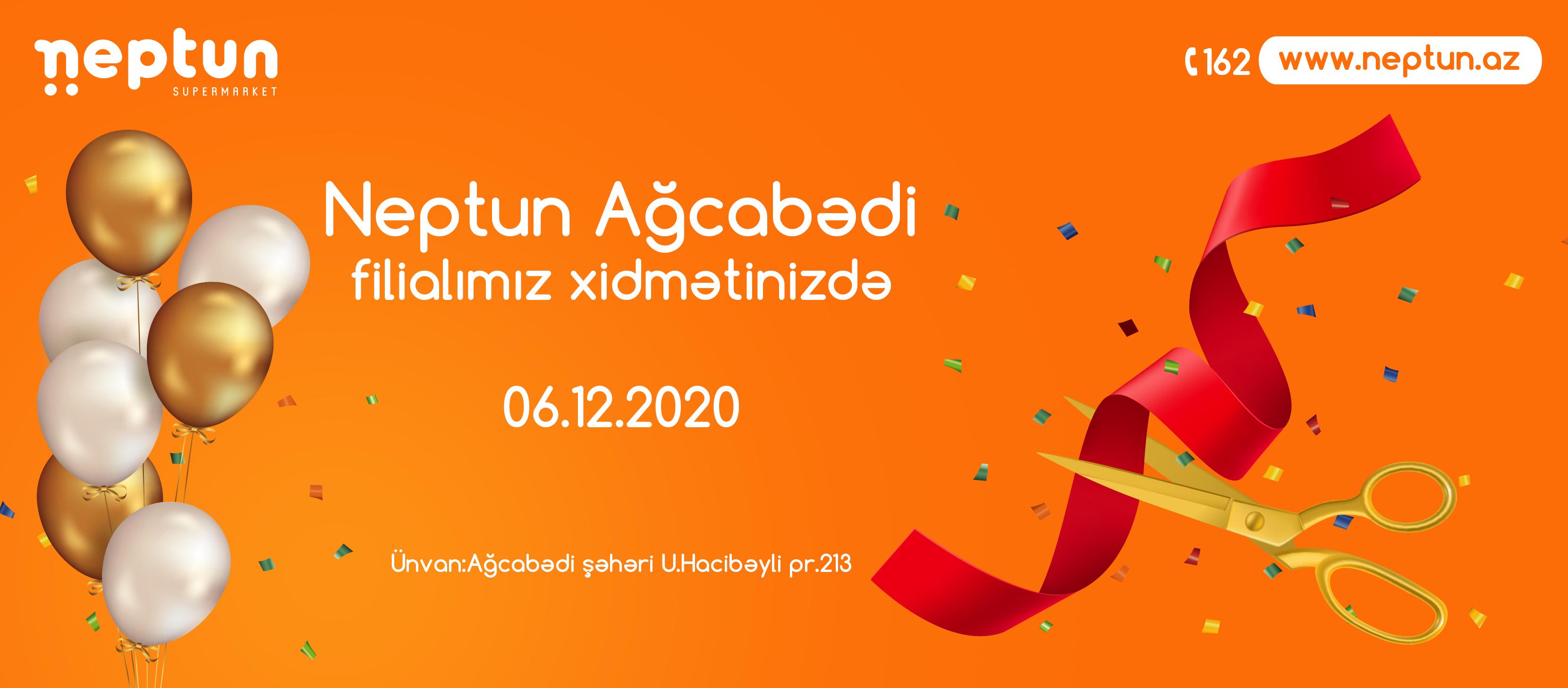 Neptun Ağcabədi Şəhərində!
