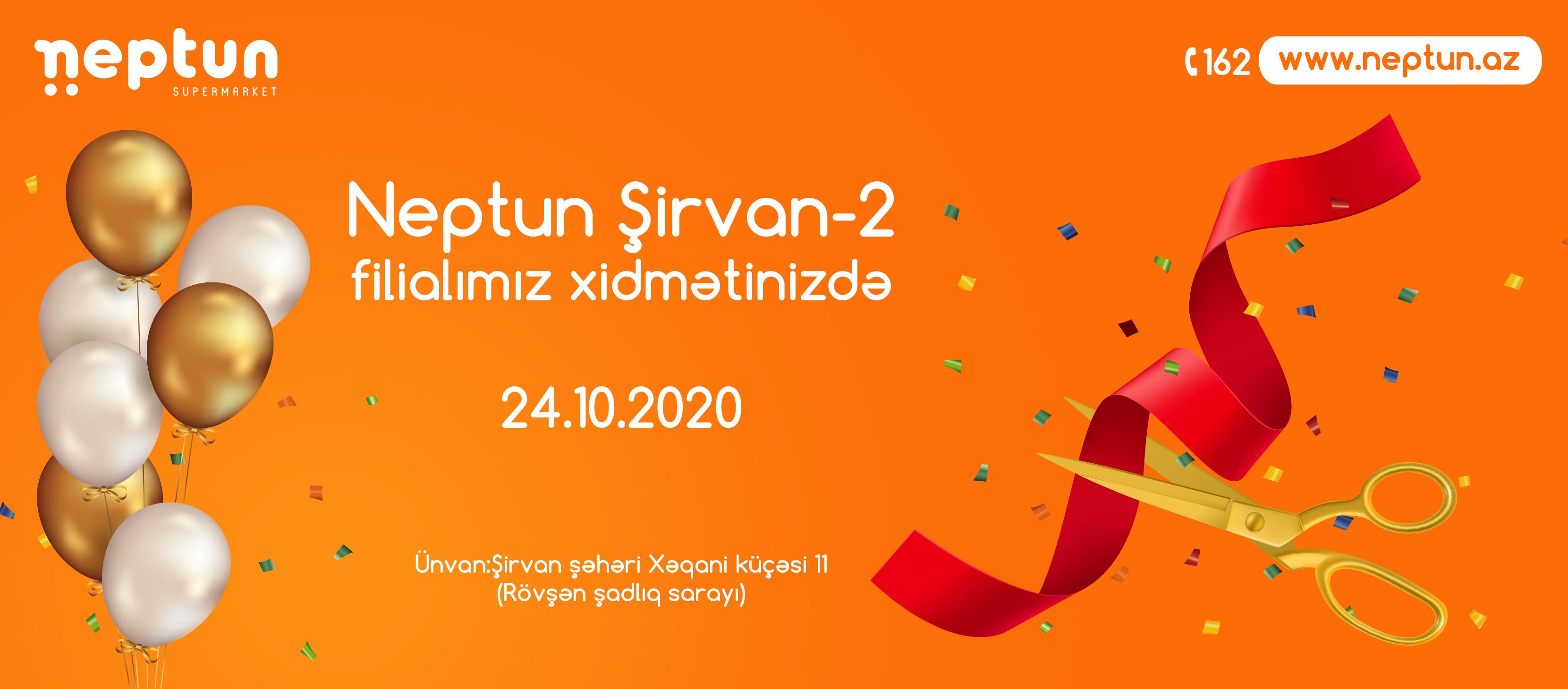 Neptun Şirvan Şəhərində İkinci Ünvanda!